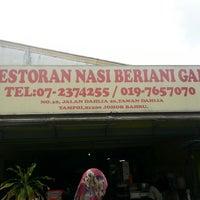 Photo taken at Nasi Beriyani Haji Saadon by Nurul A. on 7/5/2013