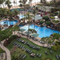 Photo taken at Marriott's Maui Ocean Club  - Lahaina & Napili Towers by Chris T. on 4/14/2013