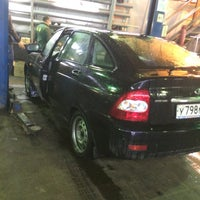 Photo taken at IRA autoservice by Валерка 😉 М. on 5/9/2014