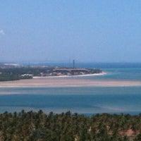 Foto tirada no(a) Mirante da Praia do Gunga por Miguel T. em 1/31/2013