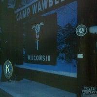 Photo taken at Camp Wawbeek by James C. on 2/2/2013