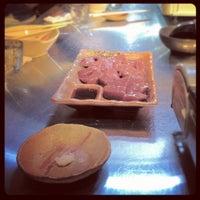 Photo taken at 初花一家 by Hidetaka N. on 11/21/2012