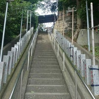 Photo taken at 千年神社 by ミズキ on 7/17/2015