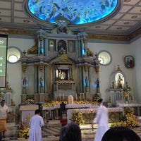 Photo taken at San Miguel Church by Arlene H. on 9/29/2013