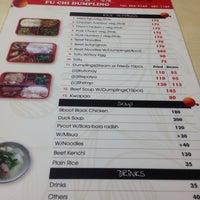 Photo taken at Fu Chi Dumplings by Jan Peter B. on 1/25/2014