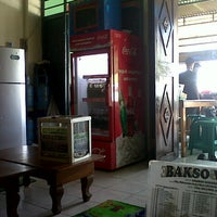 Photo taken at Bakso Wage by Rhicki A. on 3/25/2013