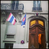Photo taken at Ambassade Royale de Thaïlande by Tonpuen S. on 2/12/2013