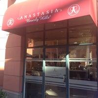 Photo taken at Anastasia Salon by JCee C. on 1/15/2014