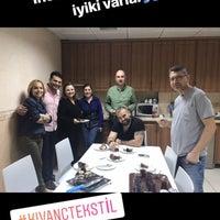 Photo taken at Kıvanç Tekstil by ido on 3/13/2018