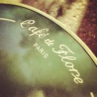 Photo taken at Café de Flore by 6.cadde on 6/8/2013