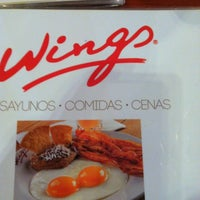 Photo taken at Wings by Stephany Z. on 2/24/2013