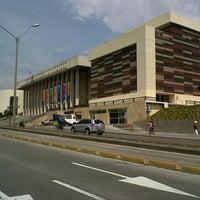 Photo taken at Biblioteca Departamental Jorge Garcés Borrero by Fabián J. on 2/28/2013