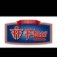 Photo taken at F-Beer Cafe & Grill by Önder G. on 2/19/2013