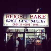 Photo taken at Beigel Bake by Sohee Y. on 1/30/2013