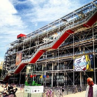 Photo taken at Pompidou Centre – National Museum of Modern Art by Ekaterina G. on 8/5/2013
