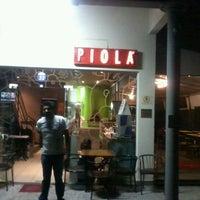 Photo taken at Piola by Thais F. on 2/15/2013