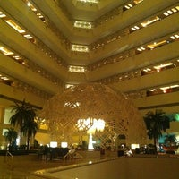 Photo taken at Sheraton Grand Doha Resort & Convention Hotel by Noufa K. on 6/30/2013