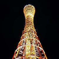 Photo taken at Kobe Port Tower by Yuyu U. on 11/22/2012