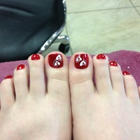 Photo taken at H2O Nails Spa by Brittany B. on 1/26/2013