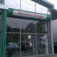 Photo taken at Skoda Montfort Garage Bürs by Thomas O. on 4/26/2013