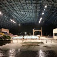 Photo taken at Kompleks Sukan Likas Swimming Pool by Tan k. on 1/14/2014