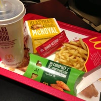 Снимок сделан в McDonald's пользователем Маргарита К. 4/7/2013