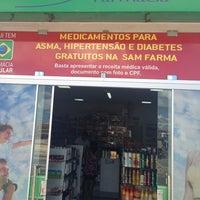 Photo taken at Farmácia Sam Farma by Samuel L. on 5/22/2014