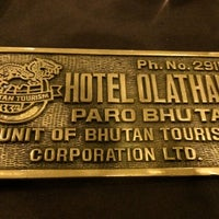 Photo taken at Hotel Olathang by Kanokporn S. on 8/13/2014