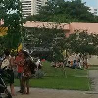 Photo taken at Praça das Artes by Josemara V. on 3/5/2015