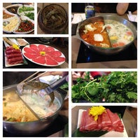 Photo taken at Mister Hot Pot 鍋大爺 by Jared N. on 8/24/2013