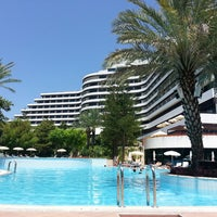 Photo taken at Rixos Downtown Antalya by Nurcan T. on 5/26/2013