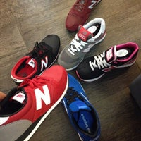 Photo taken at New Balance by James S. on 2/24/2014