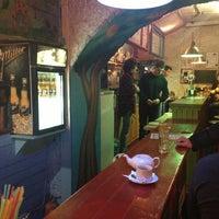 Photo taken at Арт-кафе «Вихід» by Белый on 2/17/2013