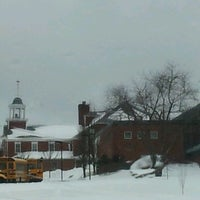 Photo taken at Lincoln Academy by Rebecca W. on 2/11/2013