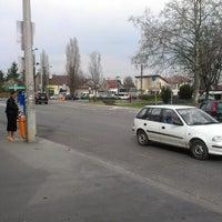 Photo taken at Béke tér by Ádám K. on 4/17/2013