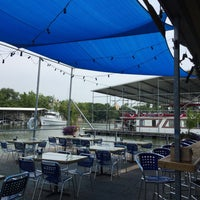 Photo taken at Blue Moon Riverfront Grille by Tadlock on 7/3/2016