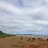 Photo taken at Lake Huron by Emily A. on 9/2/2013