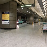 Photo taken at Taxi Stand (MTR Kowloon Station) by Vincent L. on 4/28/2017
