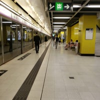 Photo taken at MTR Yau Tong Station by Vincent L. on 4/30/2018