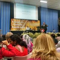 Photo taken at Igreja Batista Imperial em Células by Bruna F. on 11/8/2014