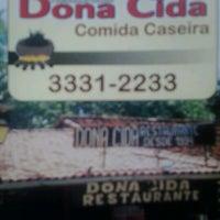 Photo taken at Dona Cida by Lenin M. on 3/16/2013