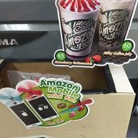 Photo taken at Café Amazon by P. 양귀비 on 2/6/2017