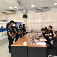 Photo taken at Mahasarakham Vocational College by P. 양귀비 on 9/22/2017
