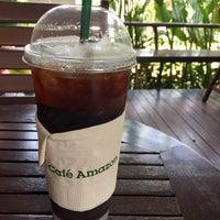 Photo taken at Café Amazon by P. 양귀비 on 4/4/2017