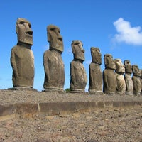 Photo taken at Easter Island by Martín F. on 7/24/2013