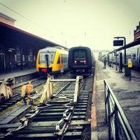 Photo taken at Helsingør Station by Hendy O. on 1/8/2013