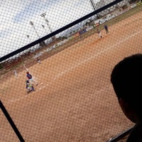 Photo taken at Unidad Deportiva Faustino Félix Serna by Ramses R. on 3/15/2018