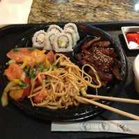 Photo taken at SanSai Japanese Grill by Rosa S. on 2/1/2013
