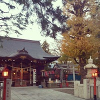 Photo taken at 草加神社 by Daisuke M. on 12/1/2013