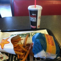 Photo taken at Carl's Jr. / Green Burrito by Nicholas H. on 2/15/2013